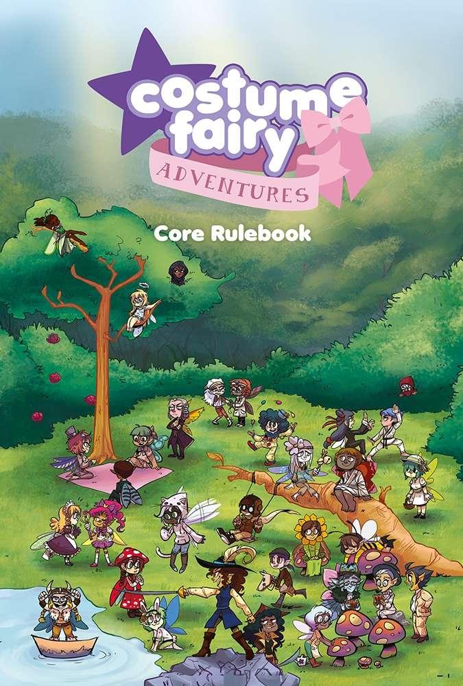 Costume Fairy Adventures - Core Rulebook - Penguin King