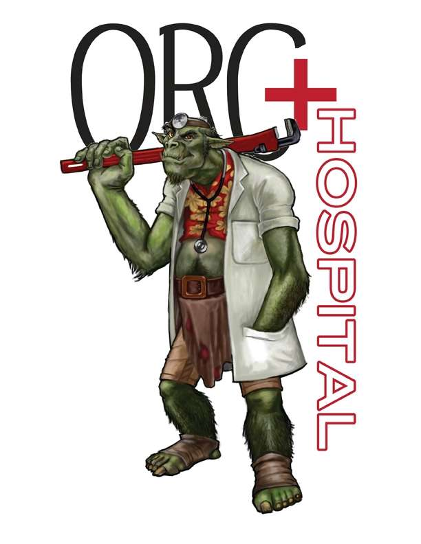 Orc Hospital (Card Game)