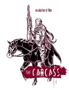 Abattoir of Flies, an expansion for the Carcass, GMZero RPG 4