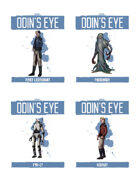 Praxis: Odin's Eye, Additional Character Bundle