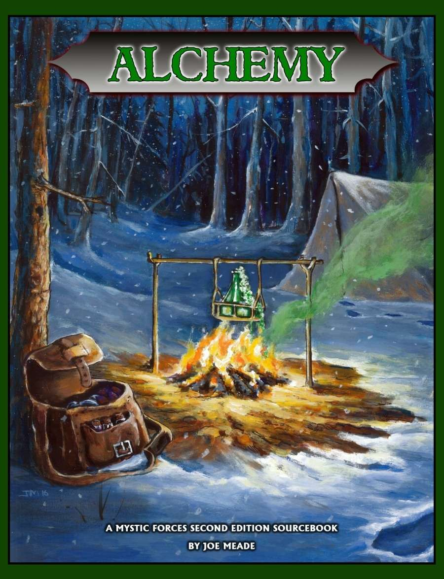 Alchemy (Mystic Forces Second Edition Sourcebook)