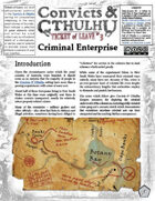 Convicts & Cthulhu: Ticket of Leave #3