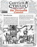Convicts & Cthulhu: Ticket of Leave #13 Un-Statted