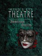 Mind's Eye Theatre: Vampire The Masquerade Immersion Secrets Preview