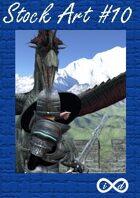 Stock Art 10 - Dragon Fight