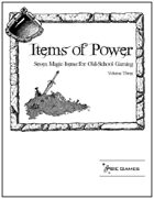 Items of Power - Volume Three