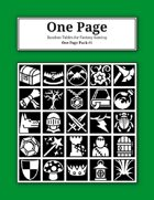 One Page Pack #1 [BUNDLE]