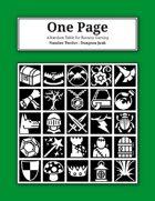 One Page Number Twelve : Dungeon Junk