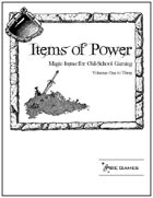 Items of Power Trilogy I [BUNDLE]
