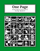 One Page - The Big Deal [BUNDLE]