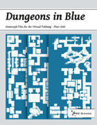 Dungeons in Blue - Floor Grid