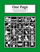 One Page Dungeon Details Collection [BUNDLE]