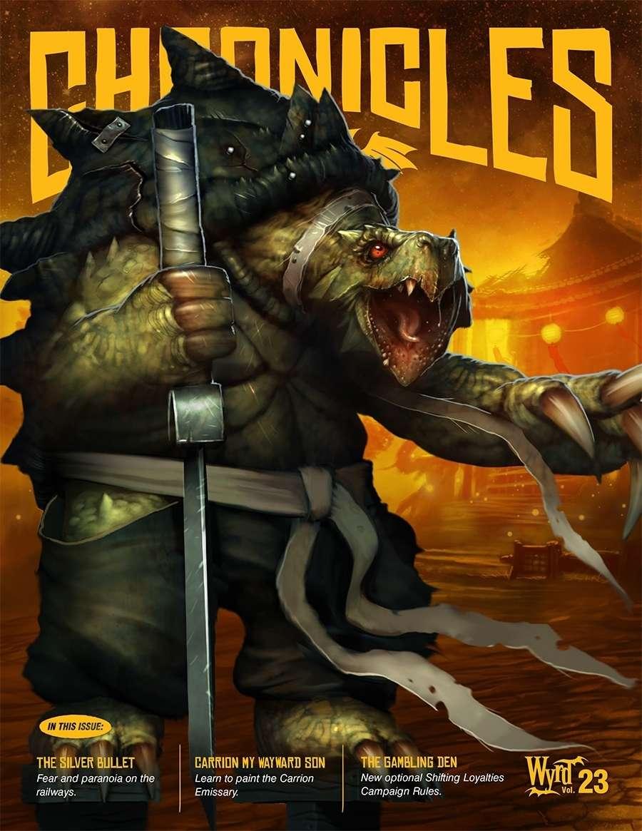 Wyrd Chronicles - Ezine - Issue 23