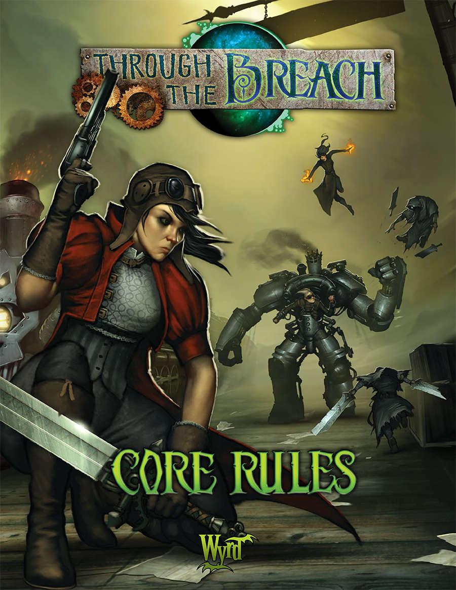 Through the Breach RPG Cover.
