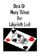 Deck Of Many Things For Labyrinth Lord