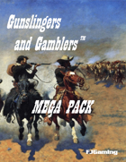 Gunslingers and Gamblers Mega-Pack [BUNDLE]