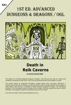Death in Reik Caverns