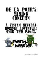 De La Poer's Mining Concern