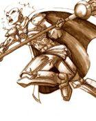 Fantasy Stock Art (Elven Priest)