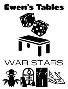 Ewen's Tables: War Stars