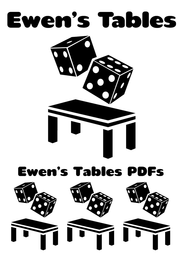Ewen's Tables PDFs Table