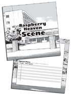 Raspberry Heaven Blank Cards