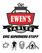 Ewen's Tables: Epic Superhero Stuff