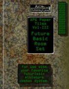APG Paper Tiles Vol. III: Future Basic Room Set