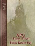 APG Paper Tiles Vol. I: Basic Room Set