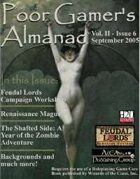 Poor Gamer's Almanac (September 2005)