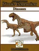 Studio Companion: Dinosaurs