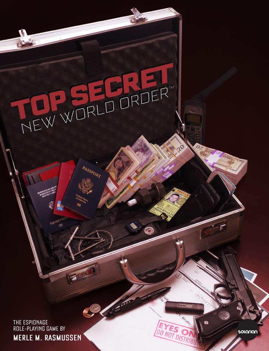 Top Secret / New World Order - TSR, Inc  | DriveThruRPG com