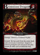 Brimstone Dragon - Custom Card