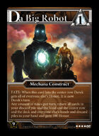 Da Big Robot - Custom Card