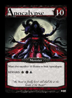 Apocalypse - Custom Card