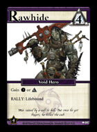 Rawhide - Custom Card
