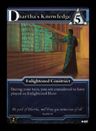 Dhartha's Knowledge - Custom Card
