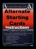 Alternate Starting Cards - Custom Card