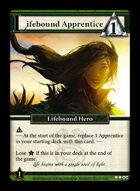 Lifebound Apprentice - Custom Card
