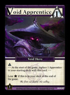 Void Apprentice - Custom Card