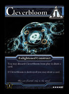 Cleverbloom - Custom Card