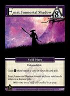 Emri, Immortal Shadow - Custom Card