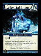 Celestial Lion - Custom Card