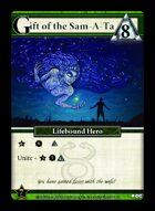 Gift Of The Sam-a-ta - Custom Card