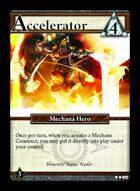 Accelerator - Custom Card