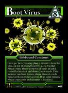 Boot Virus - Custom Card