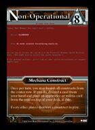 Non-operational - Custom Card