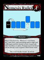 Nemesis Rules 1 - Custom Card