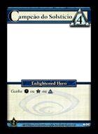 Campeão Do Solstício - Custom Card