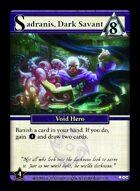 Sadranis, Dark Savant - Custom Card